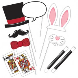 Photo Booth Props Magic Party Assorted Sizes