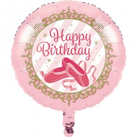 45cm Twinkle Toes Happy Birthday Ballet Slippers