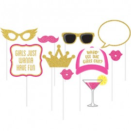 Photo Booth Props Girls Night Out Assorted Designs