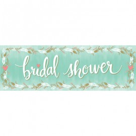 Bridal Shower Mint Giant Party Banner
