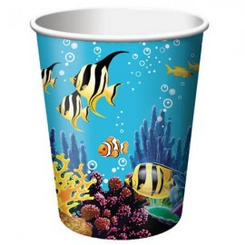 Ocean Party Cups,Hot/Cold 9 oz