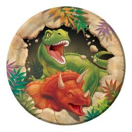 Dino Blast Luncheon Plates Paper