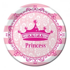Celebrations Pink Princess Lunch Plates Royalty