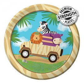 Safari Adventure Luncheon Plates