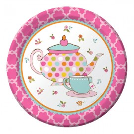 Tea Time Luncheon Plates Paper