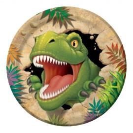 Dino Blast Dinner Plates Paper