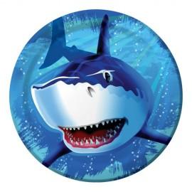 Shark Splash Dinner Plates