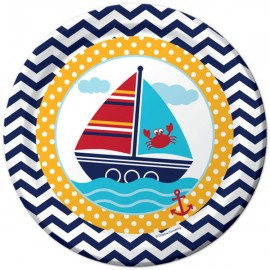 Ahoy Matey Dinner Plates