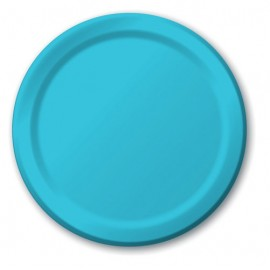 Bermuda Blue Dinner Plates Paper 23cm