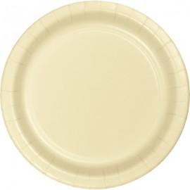 Ivory Banquet Plates Paper 26cm
