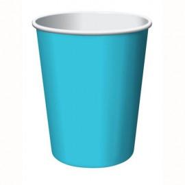 Bermuda Blue Cups Paper 266ml