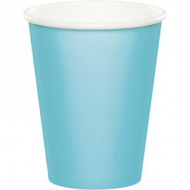 Pastel Blue Cups Paper 266ml