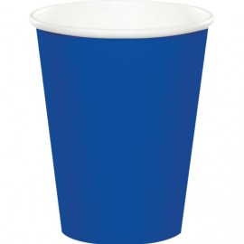 Cobalt Blue Cups Paper 266ml