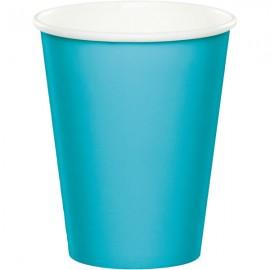 Celebrations Bermuda Blue Cups Hot/Cold Paper