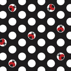 Ladybug Fancy, Beverage Napkins,