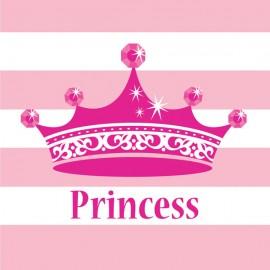 Celebrations Pink Princess Beverage Napkins Royalty