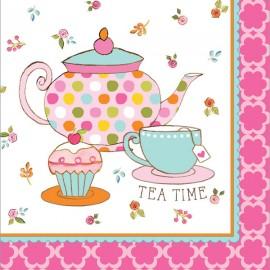 Tea Time Luncheon Napkins