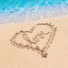 Beach Love Luncheon Napkins