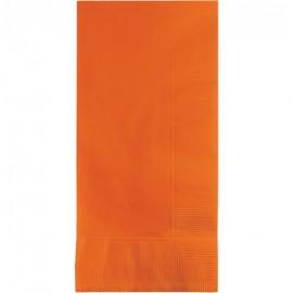 Sunkissed Orange Dinner Napkins