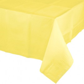 Mimosa Yellow Tablecover Tissue & Plastic Back