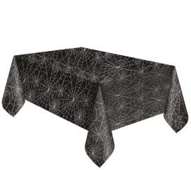 Metallic Webs Tablecover Plastic