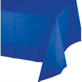 Cobalt Blue Tablecover Plastic