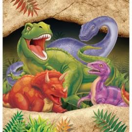Dino Blast Tablecover Plastic