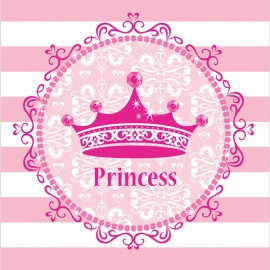 Celebrations Pink Princess Tablecover Royalty