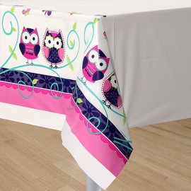 Owl Pal Birthday Tablecover, Plastic
