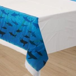 Shark Splash Tablecover, Plastic
