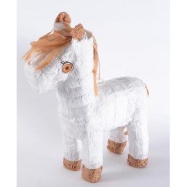 Pinata Little Horse White Only