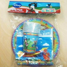Mickey Mouse Clubhouse Party Pack 40 Pieces