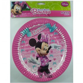 Minnie Mouse Bow-tique Paper Plates,
