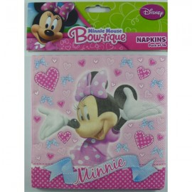 Minnie Mouse Bow-tique Lunch Napkins