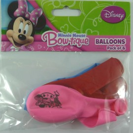 Minnie Mouse Bow-tique Latex Balloons