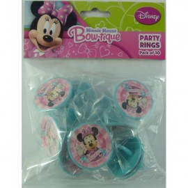 Minnie Mouse Bow-tique Party Rings
