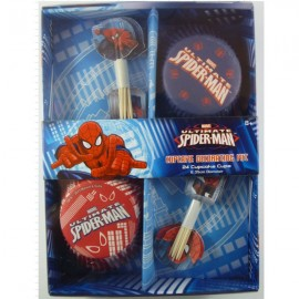 Spiderman Ultimate Cupcake Decorating Kit