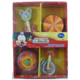 Mickey Mouse Clubhouse Cupcake Decorating Kit