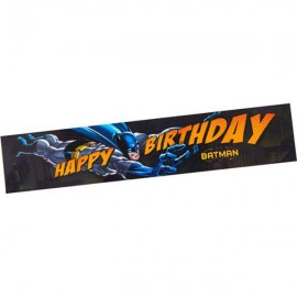Batman Banner Happy Birthday