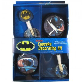 Batman Cupcake Decorating Kit,