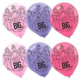 Princess Dream Big Latex Balloons 30cm