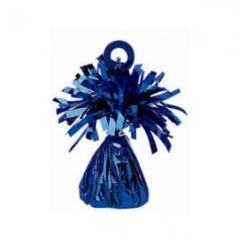 Balloon Weight Blue Mylar PER EACH