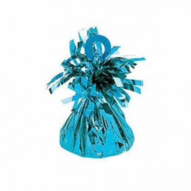 Balloon Weight Caribbean Blue Mylar PER EACH