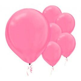 28cm Pearl Bright Pink Latex Balloons 72PK