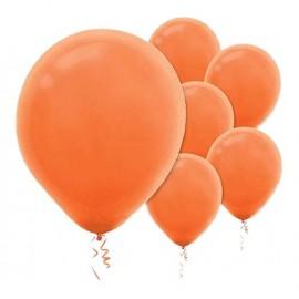 28cm Orange Peel Latex Balloons 15PK