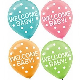 30cm Fisher Price Baby Latex Balloons
