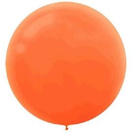 60cm Orange Peel Round Latex Balloons