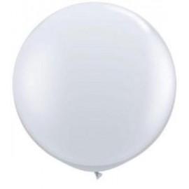 60cm Jewel Diamond Clear Round Latex Balloons