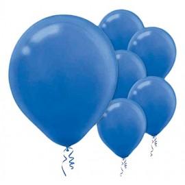 12cm Bright Royal Blue Latex Balloons 50PK