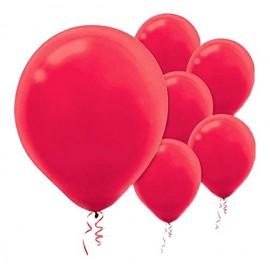12cm Apple Red Latex Balloons 50PK